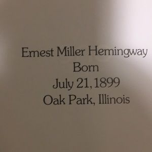 Earnest Hemingway-The dial press by Peter Buckley